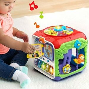 👶🏻Vtech Sort & Discover Activity Cube Toy